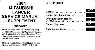 2004 mitsubishi lancer wiring diagram 2004 image 2004 mitsubishi lancer wiring diagram manual original on 2004 mitsubishi lancer wiring diagram