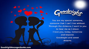Goodnight Love Quotes Enchanting Latest 48 Good Night Messages Wishes Quotes For Lover Or Love
