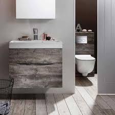 bauhaus glide ii 50 wall hung vanity unit with basin