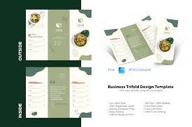 The font can be used for personal and commercial projects, in logos and on items for purchase with unlimited sales. Vegan Trifold Brochure Design Template Graphic By Rivatxfz Creative Fabrica