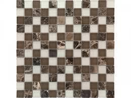 Glas-/Naturstein-Mosaik Braun/Weiß kaufen bei HELLWEG.de