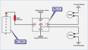 bosch relay wiring diagram for horn bosch relay wiring diagram for horn diagram wiring at Horn Diagram Wiring