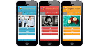 Mobile Website Templates Magnificent Nice Professional Mobile Website Templates Mobile Website