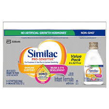 Similac Pro-Sensitive HMO Ready To Feed Infant Formula 32 fl oz, 8 ...