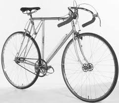 The u s copied french practice probably because schwinn was the only pany importing performance bikes with hand brakes and schwinn was influenced by