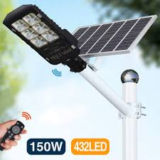 Sensors Used In Street Lights 150w Motion Sensor Solar Street Lights Outdoor Lamp Dusk To Dawn Wall Mount Security Light With Remote Control 432 Led Waterproof For Street