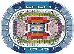 Oklahoma City Thunder Arena Seating Chart Chesapeake Energy Arena Seating Chart Parking And Oklahoma