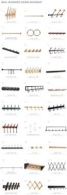 brendon farrell 6 fin hook rack 2 protected teak shaker pegs 3 oak triple coat rack 4 brass towel bar s hooks 5 occordian coat rack 6