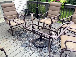 patio glass patio table lawn and patio furniture designer garden ideas of round patio table glass replacement