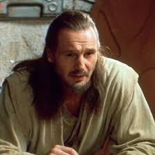 Qui-Gon Jinn. Species: Human. Homeworld: Unknown. Height: 1.93 meters. Affiliation: Jedi Order. Weapon: lightsaber. Appears in: - starwars45