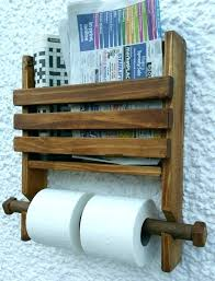 wooden toilet paper holder wooden toilet paper holder rustic wooden wall double toilet roll holder and