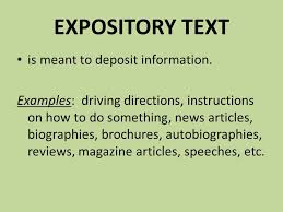 What Is Expository Text Expository Texts Nonfiction Writing And Texts Expository