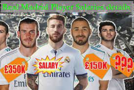 Las blancas secure champions league qualification with a stunning comeback victory. Real Madrid Player Salaries 2019 Wages Revenue Highest Paid Player