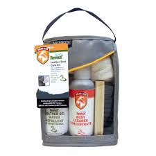 details about mcnett revivex leather boot care kit clean waterproof re hiking camping
