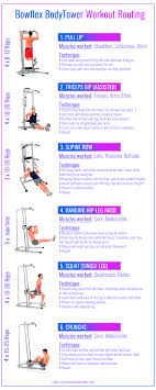 Power Tower Workout Routine Sport1stfuture Org