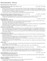 sample resume for govt jobs examples of federal resumes
