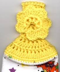 Crochet Towel Topper Pattern Extraordinary Crocheted Towel Topper With Holiday Variations