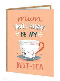 Best Tea Mothers Day Card
