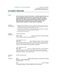College Student Resume Template Microsoft Word Enchanting College Student Resume Templates Microsoft Word Keni