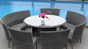 resin wicker patio dining set wicker patio dining sets beachfront