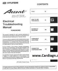 2005 hyundai accent electrical troubleshooting manual pdf
