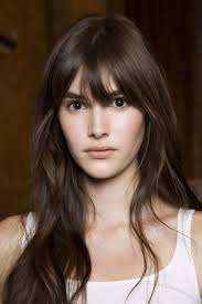 bangs for round face long hair awesome the 50 best bangs for fall hair makeup