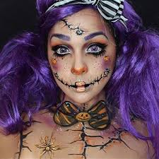 creepy rag doll for cute makeup ideas