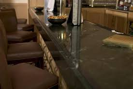 how to secure floating granite countertops
