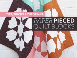 All of the Tips & Tricks You Need for Paper Pieced Quilt Blocks ... & All of the Tips & Tricks You Need for Paper Pieced Quilt Blocks - Suzy  Quilts Adamdwight.com
