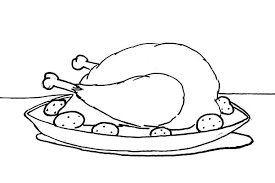 Fried Chicken Coloring Pages Download Print Online Coloring