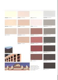 Sonneborn Color Chart Expansion Joint Color Chart Page Two Terrazzo Divider
