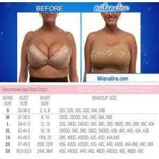 Milana Bra Size Chart White Lace Genie Milana Bra