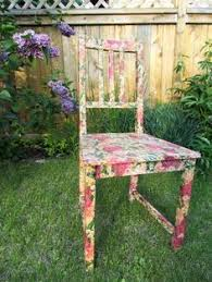 floral decoupage furniture. 10 Decoupage Ideas With Napkins Floral Furniture