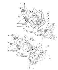1998 dodge dakota power steering hoses thumbnail 1