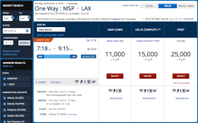 How To Search For Award Travel On The Delta Air Lines Website