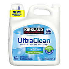 Kirkland Signature Ultra Clean <b>Free & Clear</b> HE Liquid Laundry ...