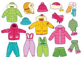 Výsledek obrázku pro zimní oblečení kreslené