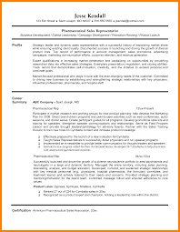 Sales Representative Resume Sales Representative Sample Resume
