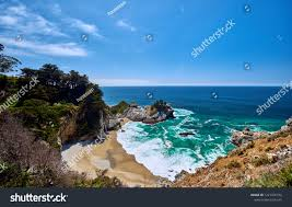 Pacific Coast Landscape Design Inc Usa Pacific Coast Landscape Julia Pfeiffer Royalty Free