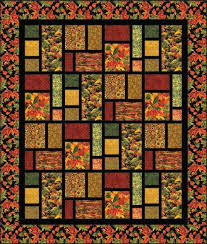 Fall's Tapestry Quilt Kit &  Adamdwight.com