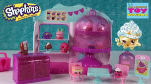 Shopkins Cupcake Queen Cafe Playset Season 4 Unboxing Toy Review