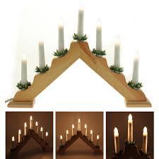 Amazonde 2 Stück Holz Dreieck Aus Lit Bridge Fenster