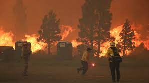 Tamarack Fire burning 18,299 acres ...