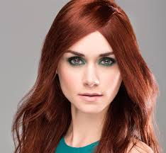 makeup middot green eyes red hair color ideas for dark skin long this crimson demands a