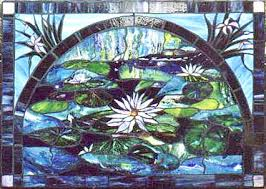 stained glass wall murals made on gabriola island near nanaimo bc vancouver island
