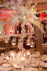 hanging crystals for wedding centerpieces. centerpieces white hanging tea lights teardrop globes gold chiavari chairs crystal branches beaded crystals for wedding e