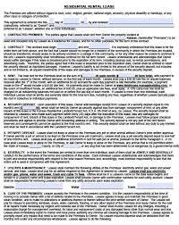 free lease agreement word doc kansas residential lease agreement form free kansas residential