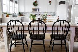 decoart blog diy windsor chair transformation pertaining to black chairs plans 9