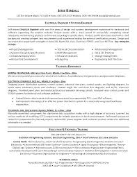 Control Systems Engineer Sample Resume Mesmerizing Electrical Engineering Resume Samples Systems Engineering Resume