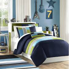 blue and green bedding. Simple And Amazoncom Navy Teal Light Green Boys Twin Comforter And Sham Set Plus  BONUS PILLOW  Home U0026 Kitchen To Blue And Bedding